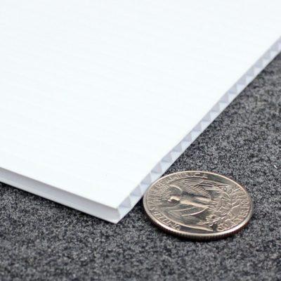 coroplast 4mm white