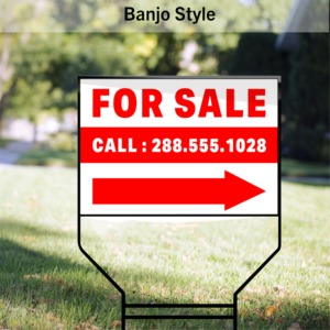 Real Estate signs MOCKUP 03