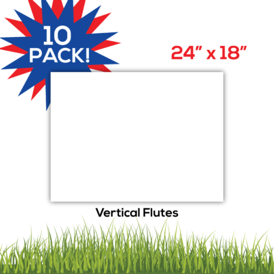 10pack BlankLawnSigns Coro 24x18 PRODUCT 01