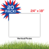 20pack BlankLawnSigns Coro 24x18 PRODUCT 01