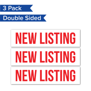 3pack NewListing RealEstateRider WhiteBG Coro 24x6 PRODUCT 01