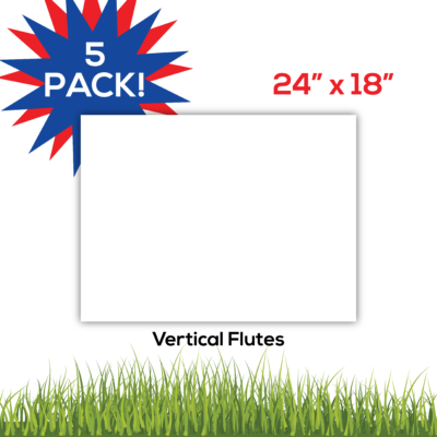 5pack BlankLawnSigns Coro 24x18 PRODUCT1 01