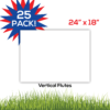 25pack BlankLawnSigns Coro 24x18 PRODUCT 01