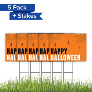 5Pack HappyHalloween OrangeBG Coro 24x18 PRODUCT 01